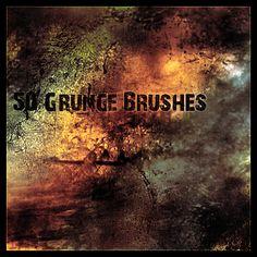 gRUNg BRUSHEs by KeReN-R.deviantart.com