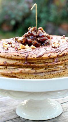 Vegan Crepe Cake (Gluten Free)