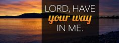 Download Have Your Way - Christian Facebook Cover & Banner