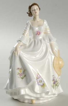 Royal Albert Figurines of the Year at Replacements, Ltd