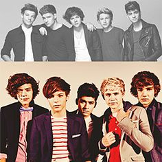 One Direction then and now
