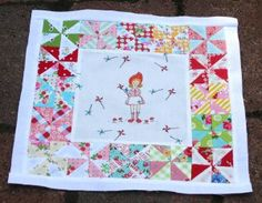 The Adorable Pinwheel Quilt is true to its name. Sew this quilt pattern for the little girl in your life.