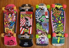 9. Something totally tubular    I love the 80s graphics on skateboards  #KickinItAppleCheeks