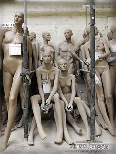 Chris Jepson - Photographer - Rootstein Mannequins