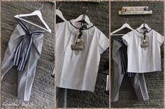 Top, Batik Lurik + Cullotes, By Gendhis's Batik.