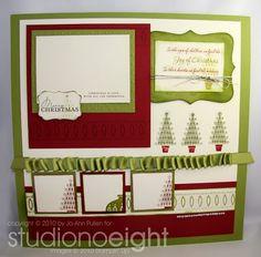 studiono8: Contempo Christmas Scrapbook Page