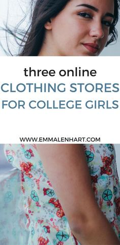 Click through this pin to discover 3 new online shopping sites that college girls don't already know about. Never run out of inexpensive online stores to shop on a college budget again! Online stores cheap for college students.