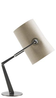 The Fork lampshade is inspired by casual fashion, by campsite tents and by an informal, playful and dynamic lifestyle. The stitching on the fabric has been created like that on jeans and the rings are
