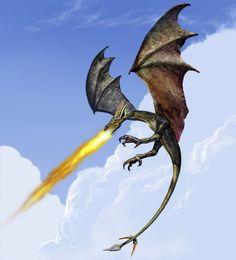 What a cool dragon