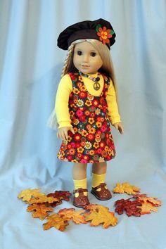 Fall Jumper, Bodysuit, Hat, Socks and Necklace for Julie