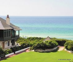 Rosemary Beach is an architectural treasure trove... and the beach ain't too shabby either! B-)