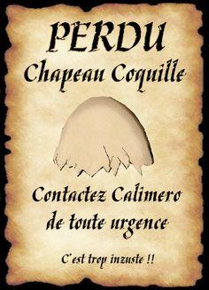 affiche calimero