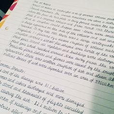 This is my lazy handwriting for when I can't be bothered to write neatly and am too tired to do anything