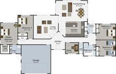 Ovation 4 bedroom house plan Landmark Homes builders NZ