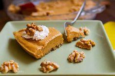 No-Bake Walnut Pumpkin Pie