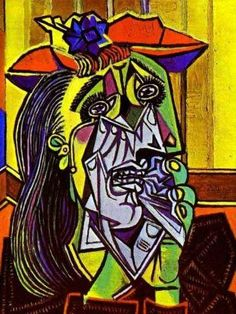 The analysis Of The Picasso's painting The Weeping Woman. http://cubismsite.com/weeping-woman-pablo-picasso/