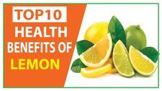 Top 10 Health Benefits of Lemon Controls High Blood Pressure Lemon Health Benefits, 10 News, High Blood Pressure, Top, Crop Shirt, Shirts
