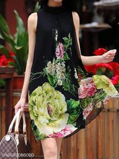 50 Fly Dresses That Look Fantastic - Just Because Fashion Cheap Clothes, Clothes For Women, Fly Dressing, Casual Dresses, Fashion Dresses, Trendy Dresses, Print Shift, Dress Silhouette, Super Cute Dresses