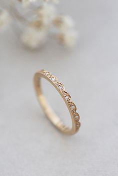 Kultainen AneMy sormus briljanteilla : Annette Tillander Webshop