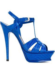 Women - Saint Laurent 'Tribute' Sandals - Tessabit.com – Luxury Fashion For Men and Women: Shipping Worldwide