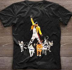 Freddie Mercury, Queen, Mens Tops, T Shirt, Fashion, Tee, Moda, La Mode, Show Queen