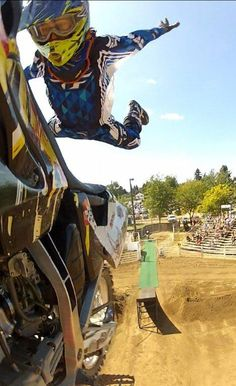 FMX Freestyler Robert Haslam Caps 2012 with Flair and Readies Bag O' tricks for 2013