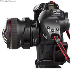 Canon TS-E 17 mm f4.0 L Tilt-Shift Lens on Canon EOS 1-Series DSLR Camera.