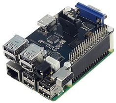 UCTRONICS Multifunction Expansion Board X105 for Raspberry Pi Model B+ 2 Raspberry Pi 3 model B