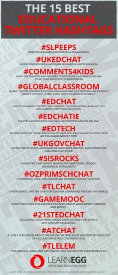 The 15 best educational Twitter hashtags - Learn Egg