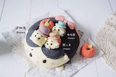 Cute Desserts, Dessert Recipes, Kawaii Dessert, Cute Donuts, Egg Cake, Cheesecake Pie, Chiffon Cake, Japanese Sweets, Cute Cakes