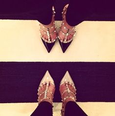 Luxe Report: Luxe Lifestyle: Favorite New Purchase: Valentino Rockstud Pumps