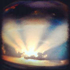 The Sky #photoadayapril Day15: #sunset - @nochesazules- #webstagram