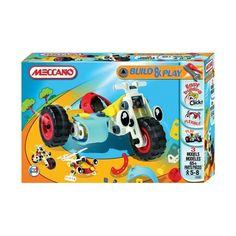 Joc constructie Motocicleta cu atas    Dezvolta-ti imaginatia cu acest minunat set de construit meccano. Pune piesele cap la cap si strange-le bine in suruburi ca sa obti p motocicleta sau foloseste instructiunile incluse sa construiesti alte 2 modele interesante sau poti descoperii singur noi modele, totul tine de imaginatia ta!    http://jocuriconstructie.ma-ra.ro/meccano/764-joc-constructie-motocicleta-cu-atas.html