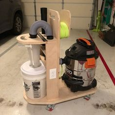 Shop Vac Cart