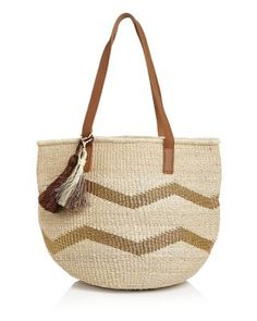 KAYU Small Chevy Straw Tote | Bloomingdale's