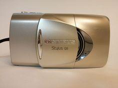 Olympus Stylus Camera Zoom 120 35mm Multi-AF 38-120mm w/Carry Case & Strap #Olympus