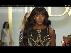 "Naomi Campbell for ""DIANE VON FURSTENBERG"" Spring Summer 2014 New York HD by Fashion Channel"