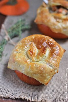 Pumpkin Pot Pie - Savory Pumpkin Recipes (Almost) Too Pretty to Eat