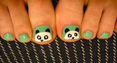 Panda toes, for baby girl