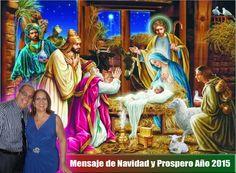 Mensaje de Navidad y Prospero Año 2015