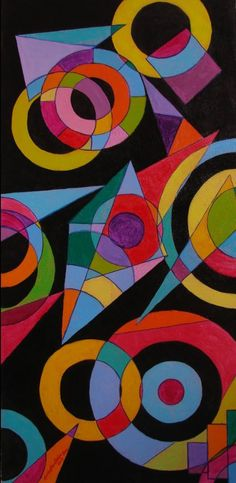PSYCHEDELIC SYMPHONY - Painting by Bobby Wylde in ABSTRACT at touchtalent 48558