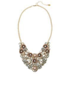 Peon Garden Embellished Collar Necklace