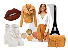 """Autumn fashion set"" by mercija ❤ liked on Polyvore featuring Lime Crime"