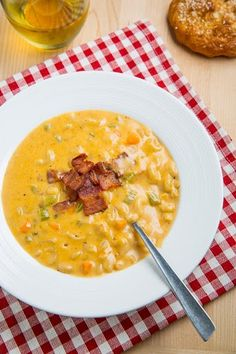 Beer Mac n Cheese Soup. Perhaps terrible for you but also exactly why it sounds delish.