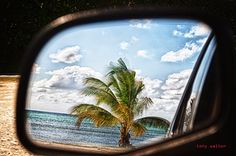 Tony Walton: sideview mirror in the cayman isalnds 11:22 AM on ...