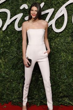 The celebrity guide to wearing a jumpsuit - click to see how style stars like Kendall Jenner style the one-piece look for day and night.