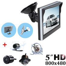 "US $19.07 Professional Parking System 2 in 1 TFT 5"" HD Car Monitor with 170 Degrees Waterproof Car rear view camera + Suction Cup Bracket. Aliexpress product"
