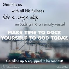 God fills us with al