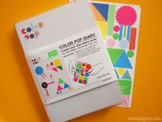 color pop diary...filofax for 2012