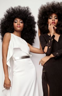 A 70s redux via the May issue of ESSENCE Magazine.